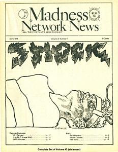 Madness Network News Volume 3 PDF