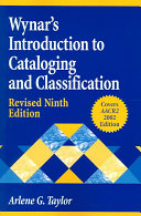 Wynar s Introduction to Cataloging and Classification PDF