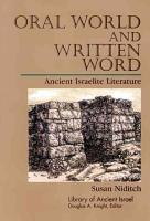 Oral World and Written Word PDF