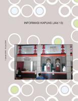 INFORMASI KAPUAS  Jilid 13  PDF