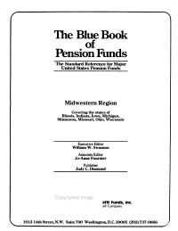 The Blue Book of Pension Plans PDF