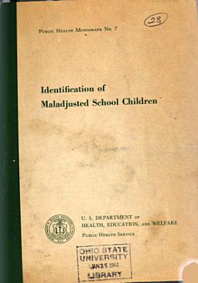 Identification of Maladjusted School Children PDF