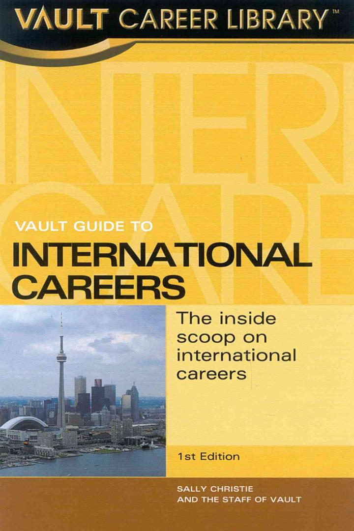 Vault Guide to International Careers