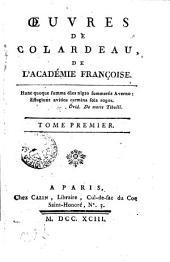 Oeuvres de Colardeau ...