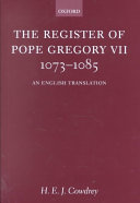 The Register of Pope Gregory VII, 1073-1085