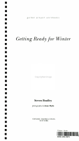 Getting Ready for Winter PDF