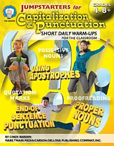 Jumpstarters for Capitalization   Punctuation  Grades 4   8 PDF