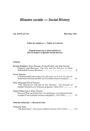 Histoire Sociale PDF