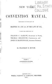 New York Convention Manual: Constitutions