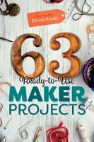 63 Ready to Use Maker Projects PDF