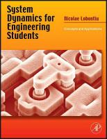 System Dynamics for Engineering Students PDF