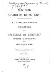 Directory of Social and Health Agencies of New York City