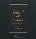 2008 Federal Tax Course PDF