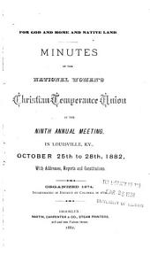Report of the ... Annual Meeting of the National Woman's Christian Temperance Union