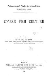 Coarse Fish Culture