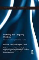 Branding and Designing Disability PDF