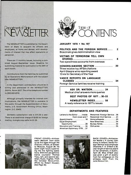 Department of State News Letter PDF
