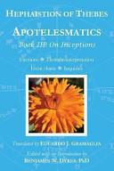 Apotelesmatics Book Iii
