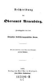 Beschreibung des Oberamts Reuenbürg: Band 41