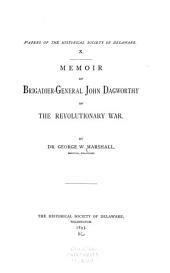 Memoir of Brigadier-General John Dagworthy of the Revolutionary War