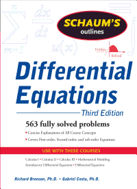 Schaum s Outline of Differential Equations  3ed