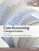 Cost Accounting  Global Edition PDF