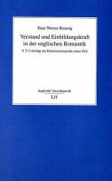 Verstand und Einbildungskraft in der englischen Romantik PDF