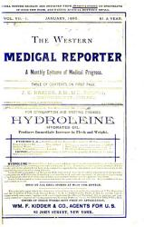 The Western Medical Reporter PDF