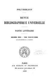 Polybiblion: revue bibliographique universelle, Volume43
