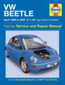 VW Beetle Service and Repair Manual