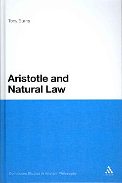 Aristotle and Natural Law PDF
