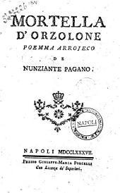 Mortella d'orzolone poemma arrojeco de Nunziante Pagano