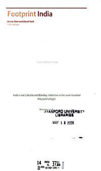 Footprint India PDF