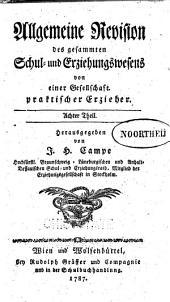 Allgemeine Revision des Gesammten Schul- und Erziehungswesens: Band 8