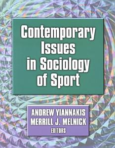 Contemporary Issues in Sociology of Sport Book
