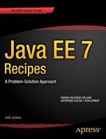 Java EE 7 Recipes PDF