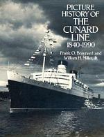 Picture History of the Cunard Line, 1840-1990