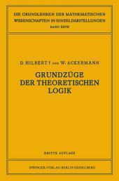Grundzüge der Theoretischen Logik: Ausgabe 3