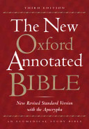The New Oxford Annotated Bible with the Apocrypha Book
