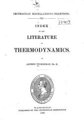 Index to the Literature of Thermodynamics: Volume 34, Issue 7