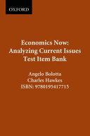 Economics Now  Analyzing Current Issues PDF
