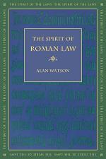 The Spirit of Roman Law