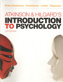 Atkinson Hilgard S Introduction To Psychology
