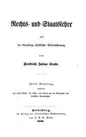 Rechts- und Staatslehre auf der Grundlage christlicher Weltanschauung: 2