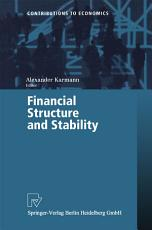 Financial Structure and Stability PDF