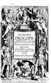 Procopii Caesariensis Historiarum libri octo