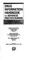 Drug Information Handbook for Advanced Practice Nursing PDF