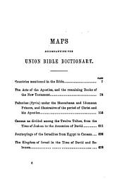 Union Bible Dictionary...prepared for the American Sunday School Union...