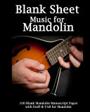 Blank Sheet Music for Mandolin Notebook PDF