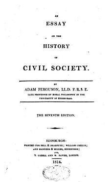An Essay on the History of Civil Society PDF